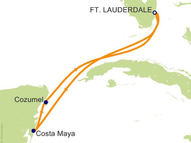 5 Night Western Caribbean Getaway Cruise from Fort Lauderdale
