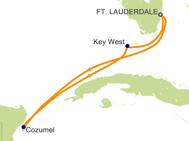 5 Night Western Caribbean Cruise from Fort Lauderdale