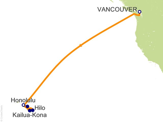 12 Night Hawaii Cruise from Vancouver
