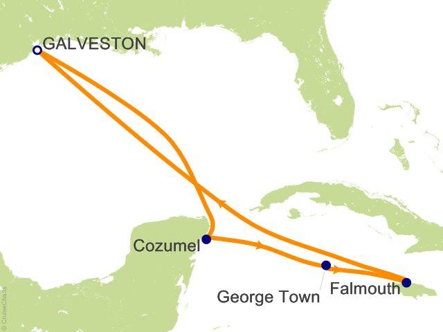 7 Night Western Caribbean Cruise On Liberty Of The Seas