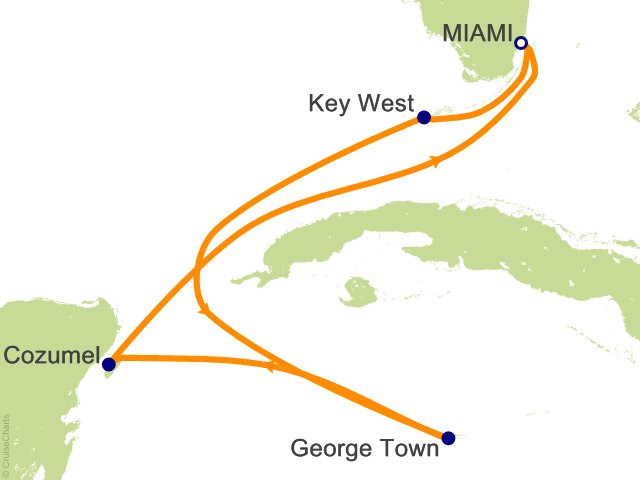 6 Night Western Caribbean Cruise from Miami