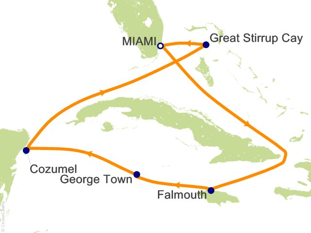7 Night Caribbean and Antilles Cruise from Miami