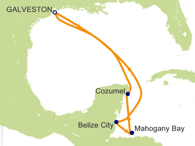 7 Night Western Caribbean Cruise On Carnival Freedom From