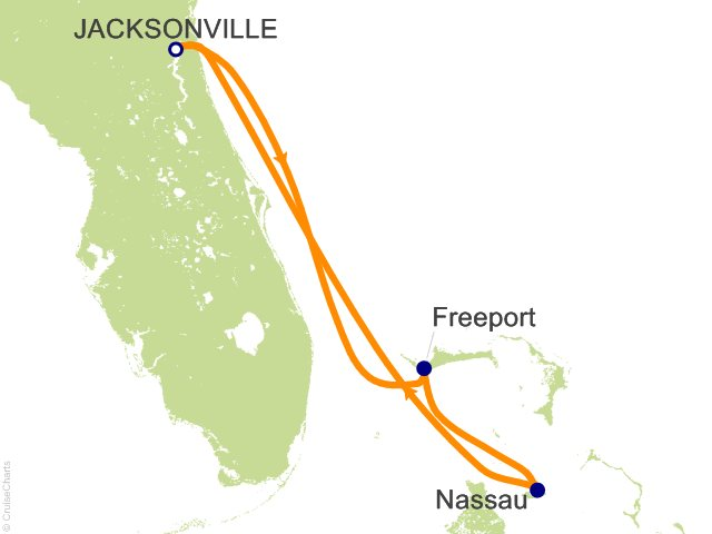 4 Night Bahamas Cruise from Jacksonville