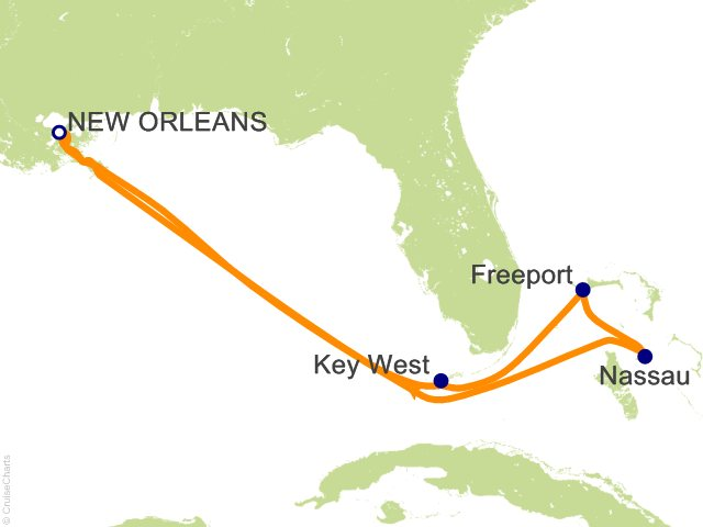7-Day Western Caribbean from New Orleans | Staterooms ...