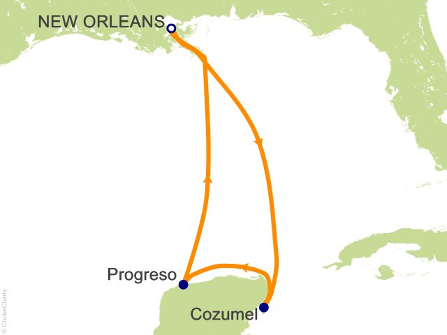Night Western Caribbean Cruise On Carnival Triumph From New - Carnival triumph itinerary