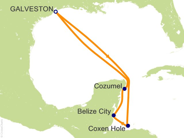 7 Night Western Caribbean Cruise from Galveston