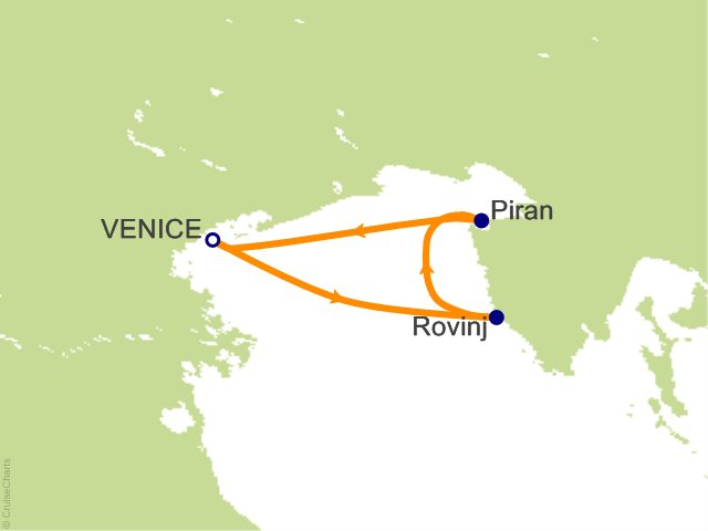3 Night Croatia and Slovenia Cruise from Venice